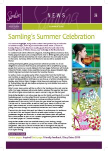 Front cover for Issue 28 – Summer 2012