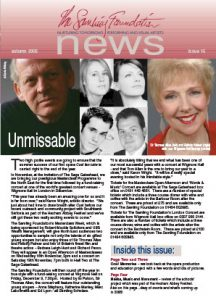 Front cover for Issue 15 – Autumn 2005