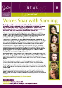 Front cover for Issue 26 – Autumn 2009