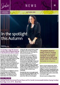 Front cover for Issue 40 – Autumn 2014