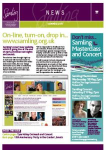 Front cover for Issue 31 – Summer 2011