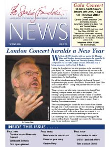 Front cover for Issue 10 – Spring 2004