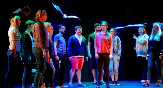 Cast in rehearsal for L'enfant et les sortileges