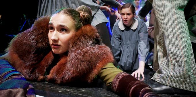 Ana Fernandez Guerra as Squirrel in Samling Academy Opera 2015, L'enfant et les sortileges Photo©: Mark Pinder